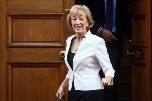 Andrea Leadsom on July 6.