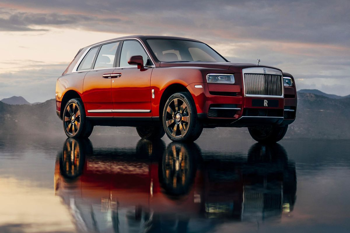 Best 2018 Luxury Cars Under 50 000: Rolls-Royce Debuts Its First SUV, The $325,000 Cullinan