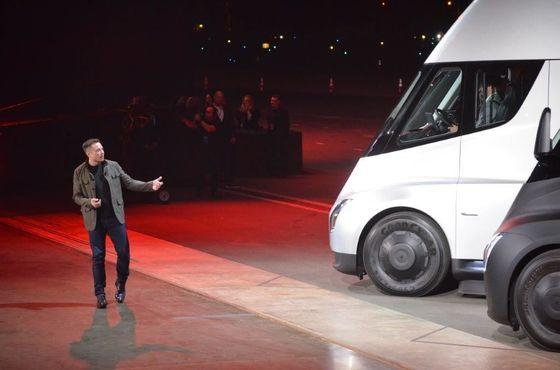 With Tesla Model Y Party, Elon Musk Goes Where He's Comfortable:The Spotlight