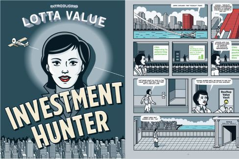 Loews Creates 'Investment Hunter' Comic Book to Tout Its Stock