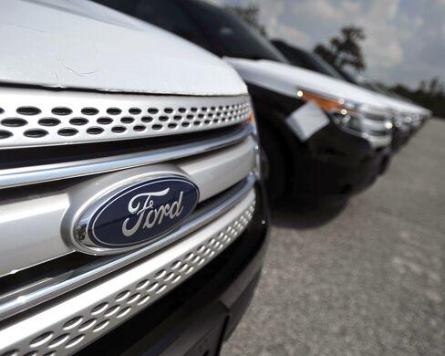 Ford Motor Posts $1.65 Billion Third-Quarter Profit on SUV