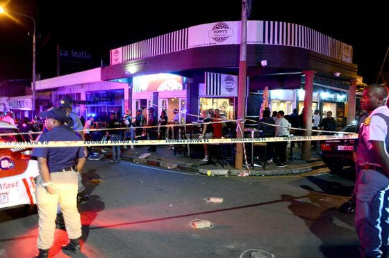 Johannesburg Drive-by Killings Highlight Pervasive Crime Problem