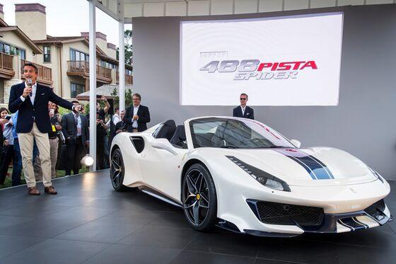 Ferrari's New 488 Pista SpiderIs ItsMost PowerfulConvertible Yet