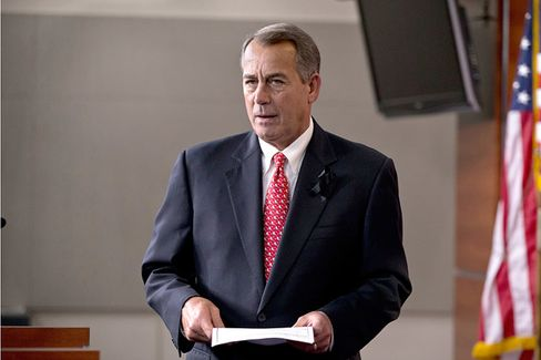 Boehner's Christmas Wish: To Roll the Tea Party