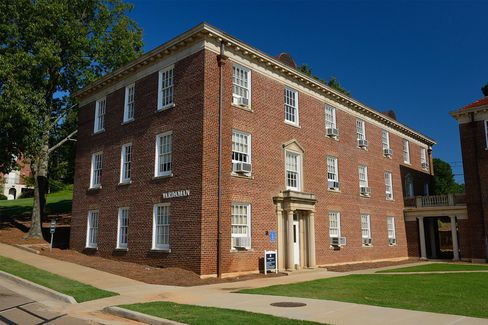 Vardaman Hall at the University of Mississippi.