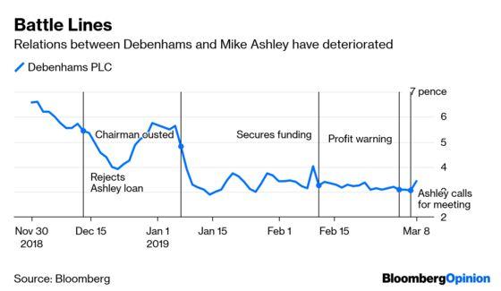 Billionaire's Retail Brawl Spreads Some Damage