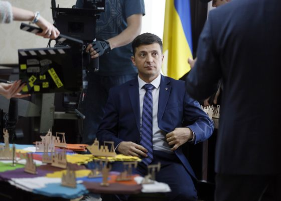 Ukraine's Election Wildcard Assembles a Team to Match His Ambition