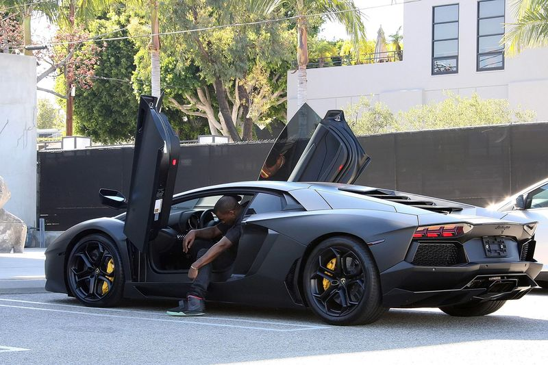 When The Lamborghini Aventador First Came Out, Kanye West Ordered His  Totally Specialized In A