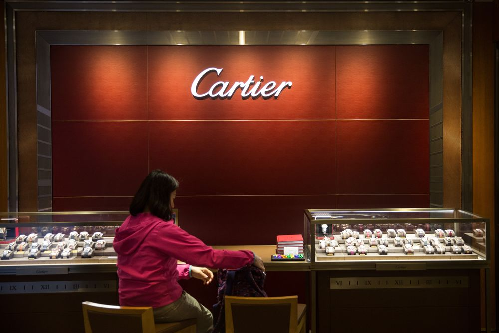 Richemont's Watch Sales Decline as Hong Kong Protests Sting