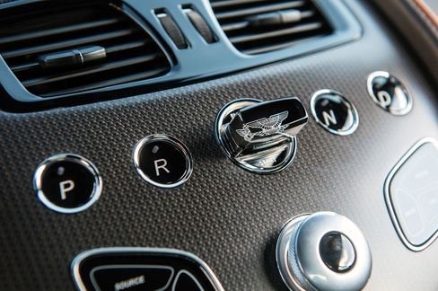 The car uses a slim fob that you push into the center console in order to start the ignition