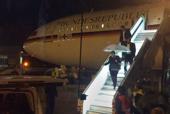 Germany Blames Merkel Plane's Turnaround on Electronics Fault