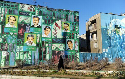 Murals in Iran