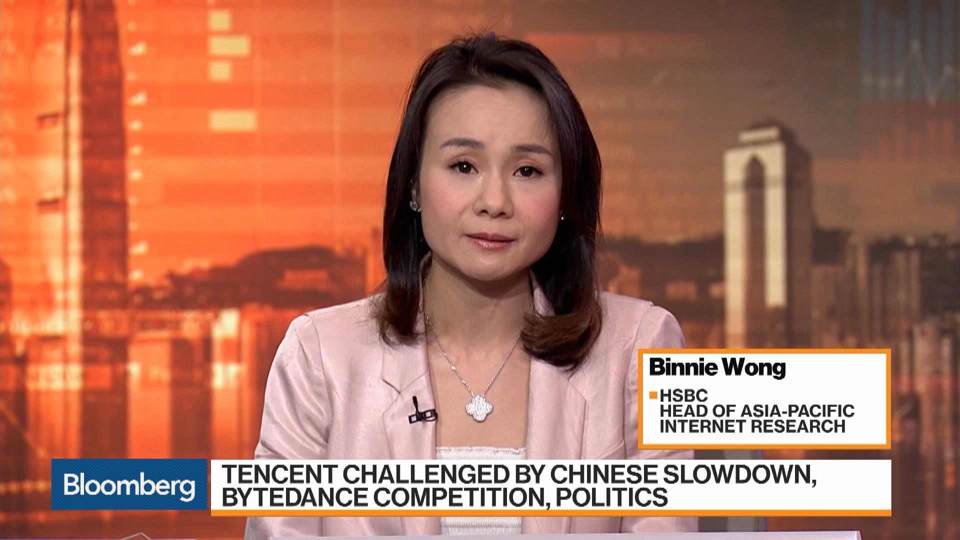 Tencent Rated 'Buy' by Binnie Wong, head of Asia-Pacific internet research at HSBC Holdings,