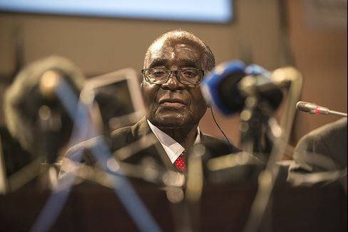 """Mugabe is expected to say he is """"carrying out a raft of measures to improve the business environment"""""""