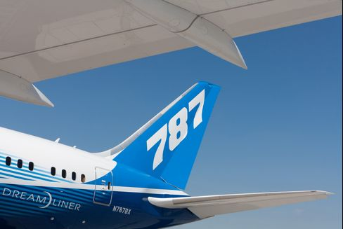 Boeing Orders Checks of 787