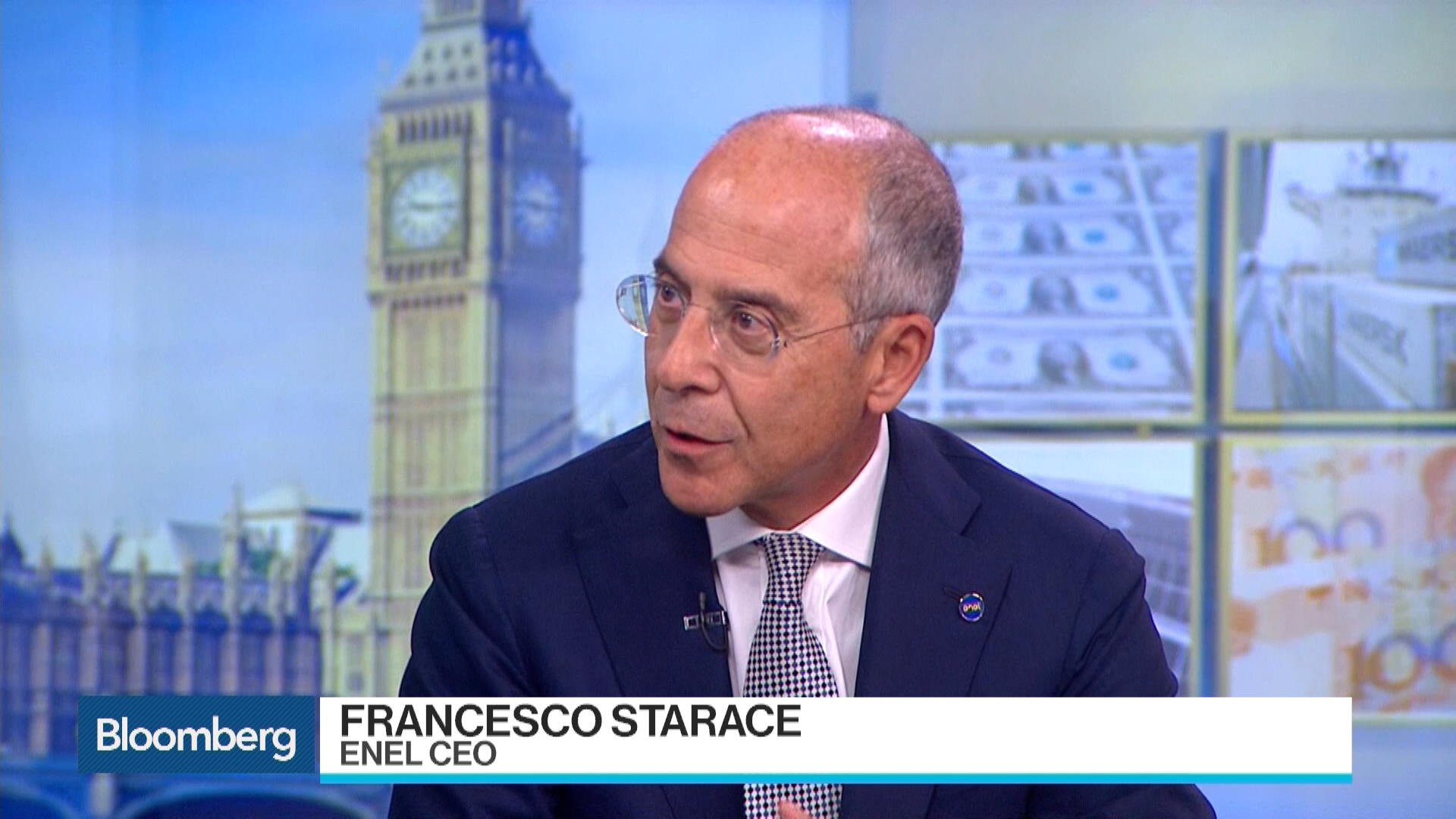 Enel CEO Finds Value Outside Of Energy Distribution – Bloomberg