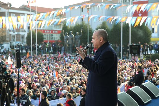 ErdoganQuiet About U.S. on CampaignTrail, Giving Markets Relief