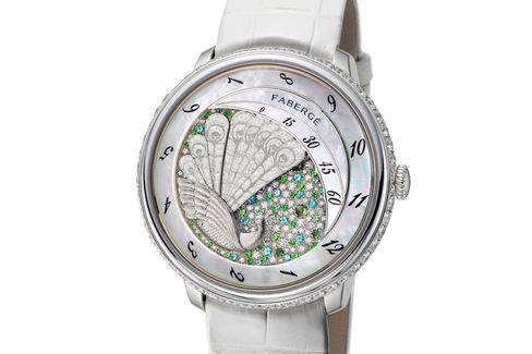 An unusual and beautiful complication developed just for this watch.