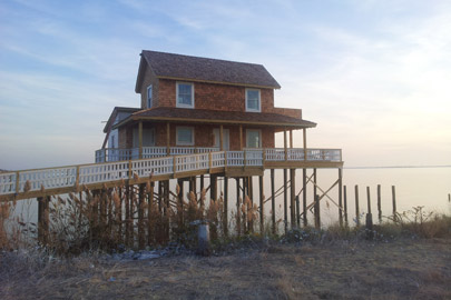 The Stinson house was mostly rebuilt by the end of last year