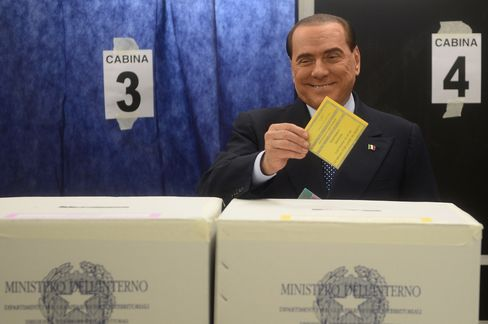 Former Italian Leader Silvio Berlusconi