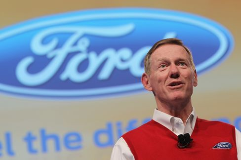 Ford CEO Mulally
