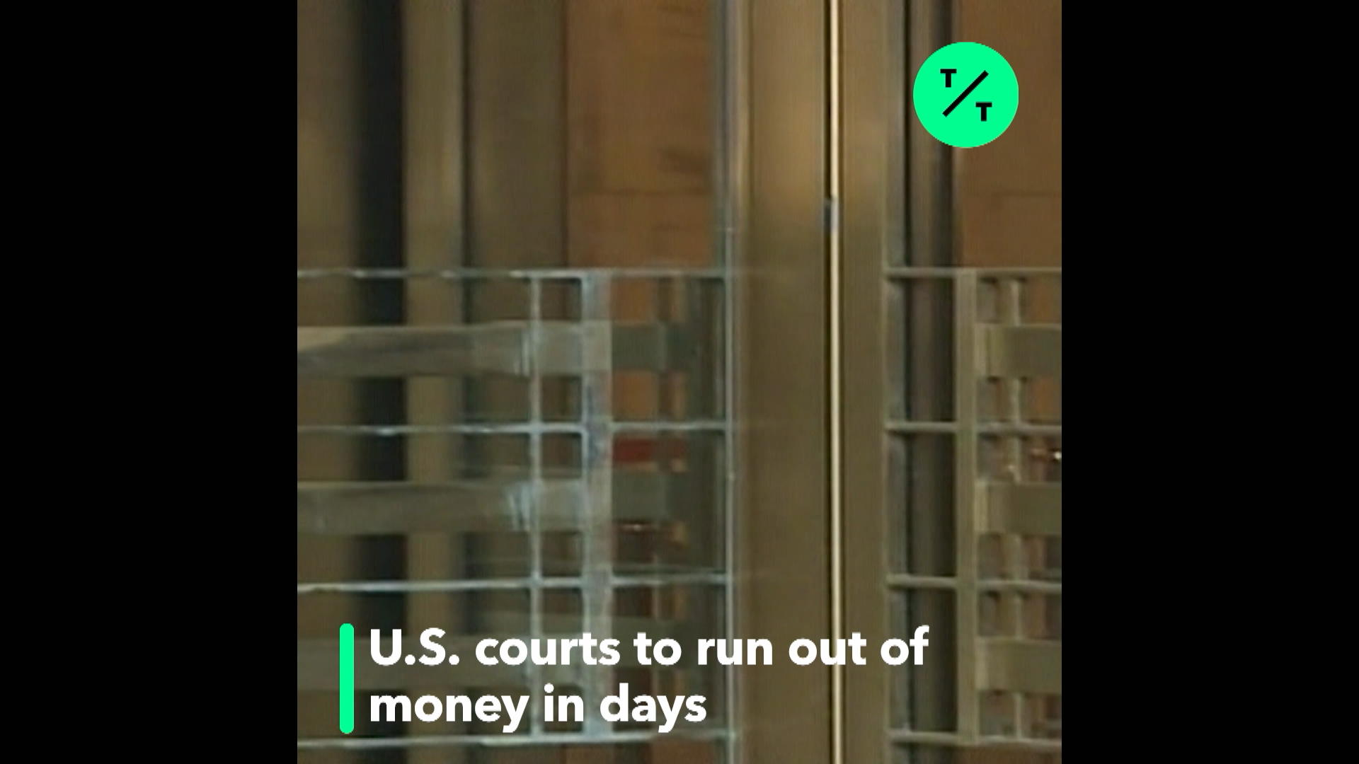 Courts Run Out of Cash Next Friday  Here's What Happens Then