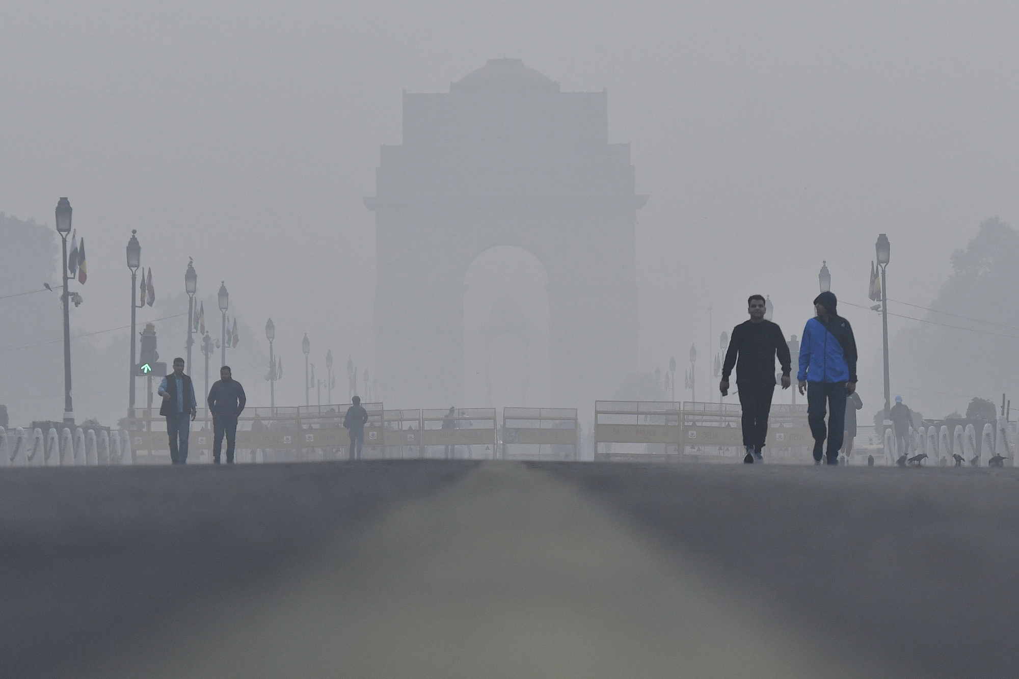 Why Smog Chokes India's Capital, and Its Economy?