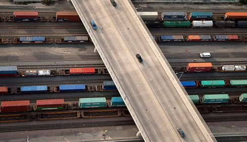 Rail-Truck Shipments Reveal Holiday Sales Clues