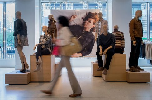 Purchases at Clothing Stores Dropped 1.2 Percent