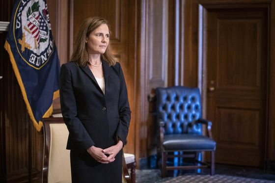Senate Set for Vote Monday to Place Barrett on Supreme Court
