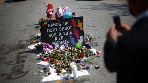 Memorial for Michael Brown