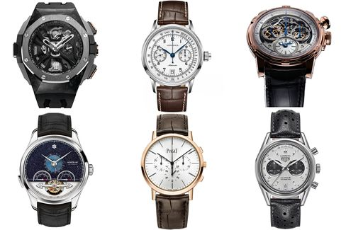 Many of this year's chronograph finalists utilize innovative new mechanisms.