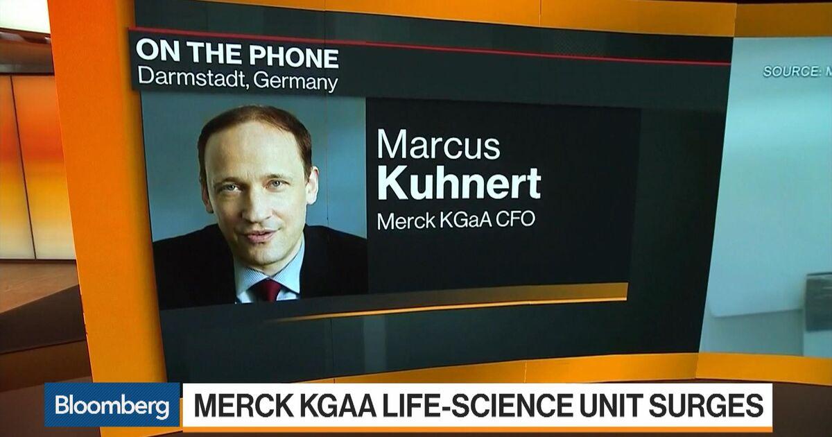Marcus Kuhnert, CFO of Merck KGaA, on Results, Outlook - Bloomberg