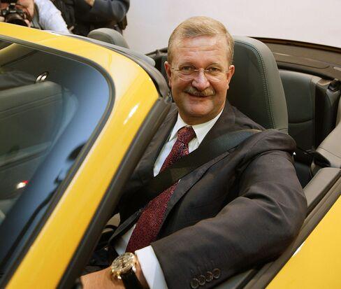Former Porsche CEO Wendelin Wiedeking photographed in 2006.
