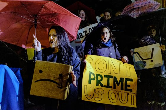 Seattle City Council Members Visit New York to Warn About Amazon HQ2