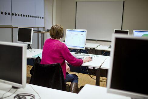 Female Jobseeker in Stockholm