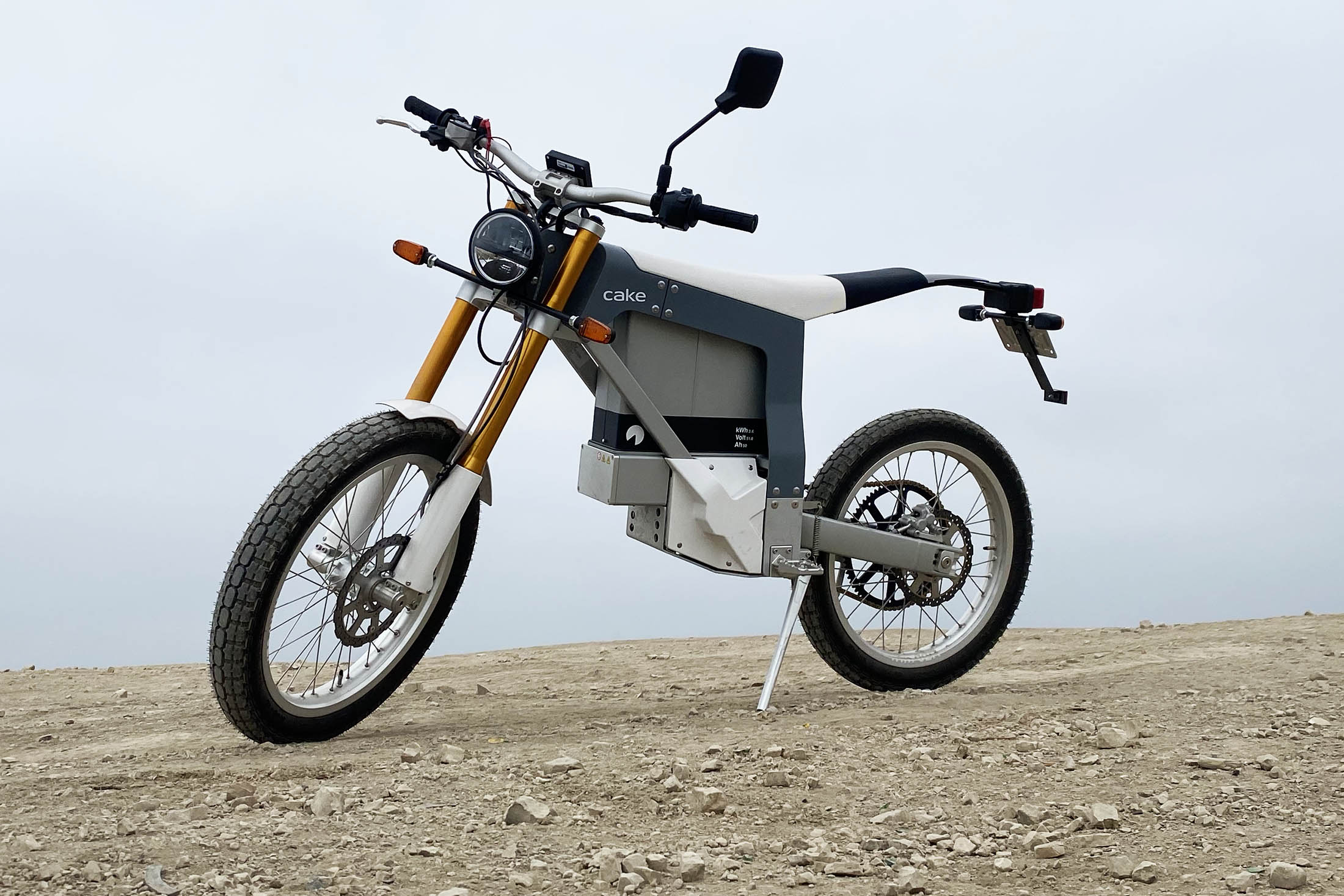 relates to Back to the Bike Lane: The Cake Electric Motorcycle Just Isn't It