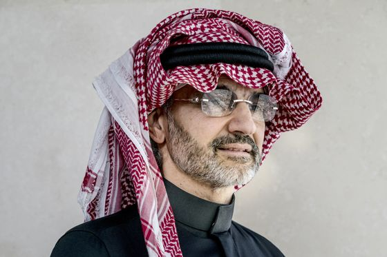 Saudi Prince Alwaleed's Net Worth Tumbles 58%