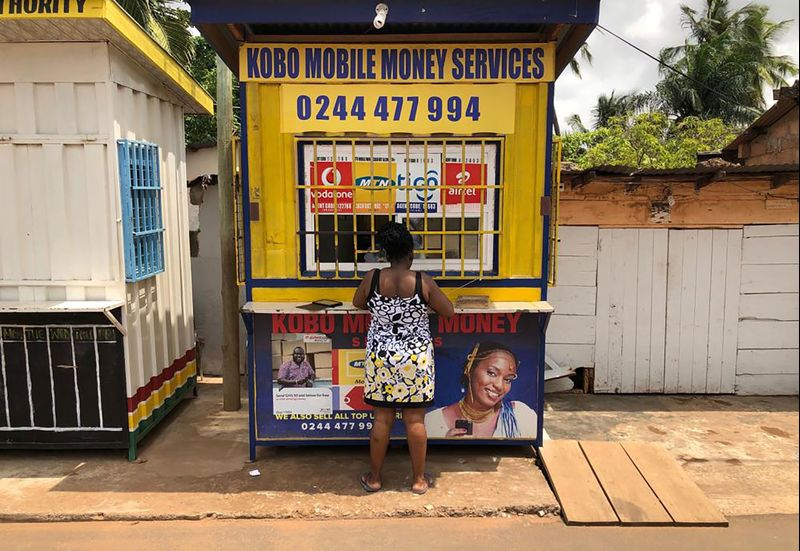 Mobile Phones Are Replacing Bank Accounts in Africa