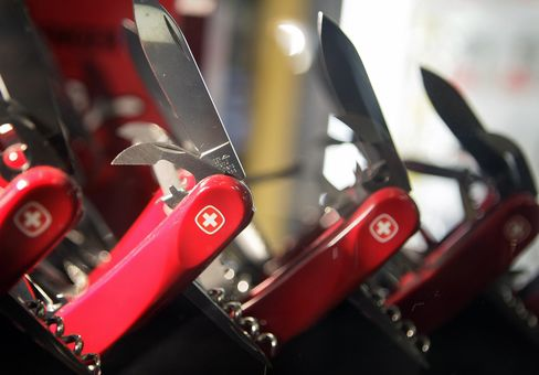 Swiss Army Knives Tap Knife-Less Market to Beat Sales Drop