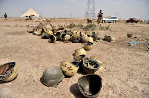 Abandoned Iraqi Military Gear