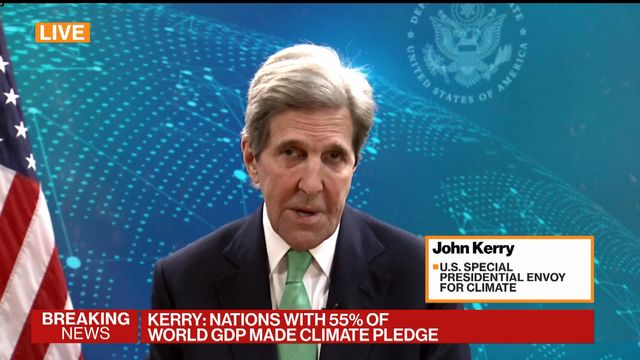 John Kerry Says Climate Crisis Talks Not About Politics