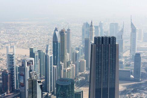 Skyscrapers Stand in Dubai