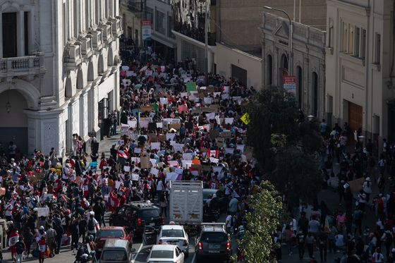 Peru's Interim Leader Faces Calls to Quit as Crisis Deepens