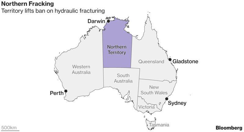 Провинция Австралии отменила запрет на ГРП