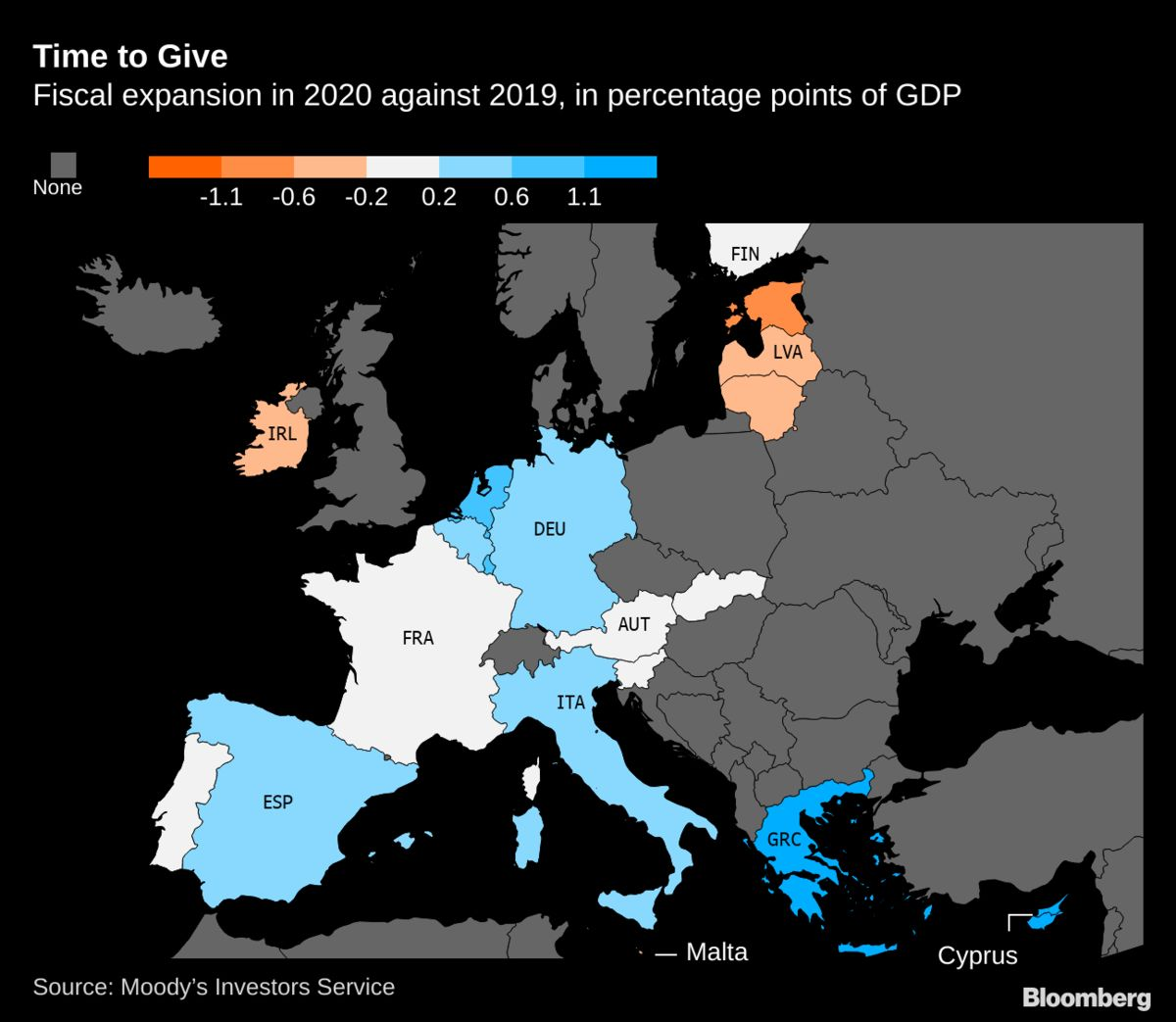 Austerity-Hit Greece Headed for Biggest Euro-Area Easing