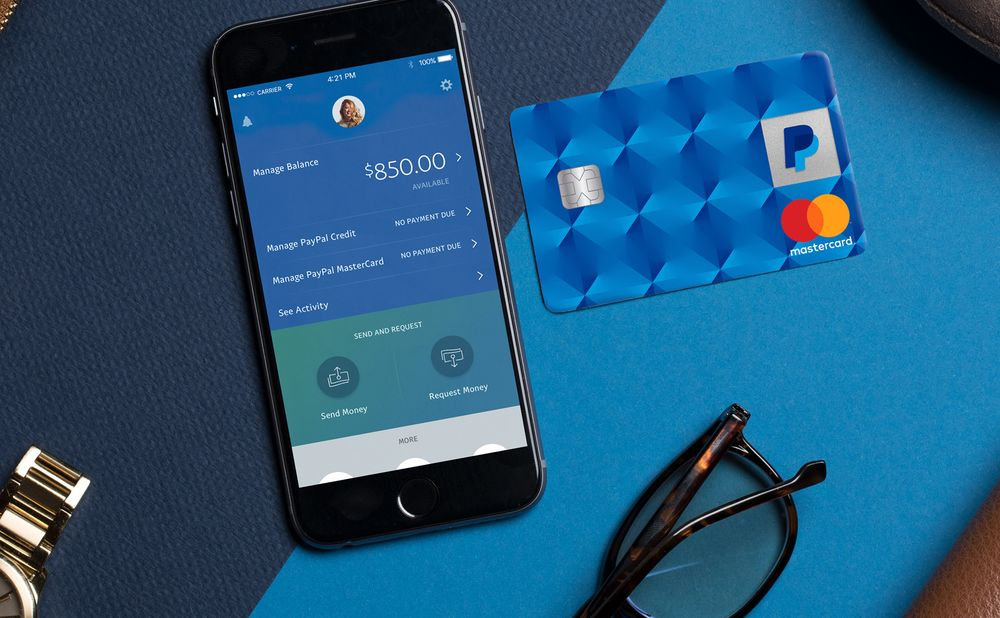 PayPal Debuts a Credit Card That Offers 2% Cash Back - Bloomberg