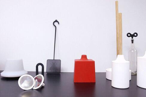 Some of Owen's minimalist creations.