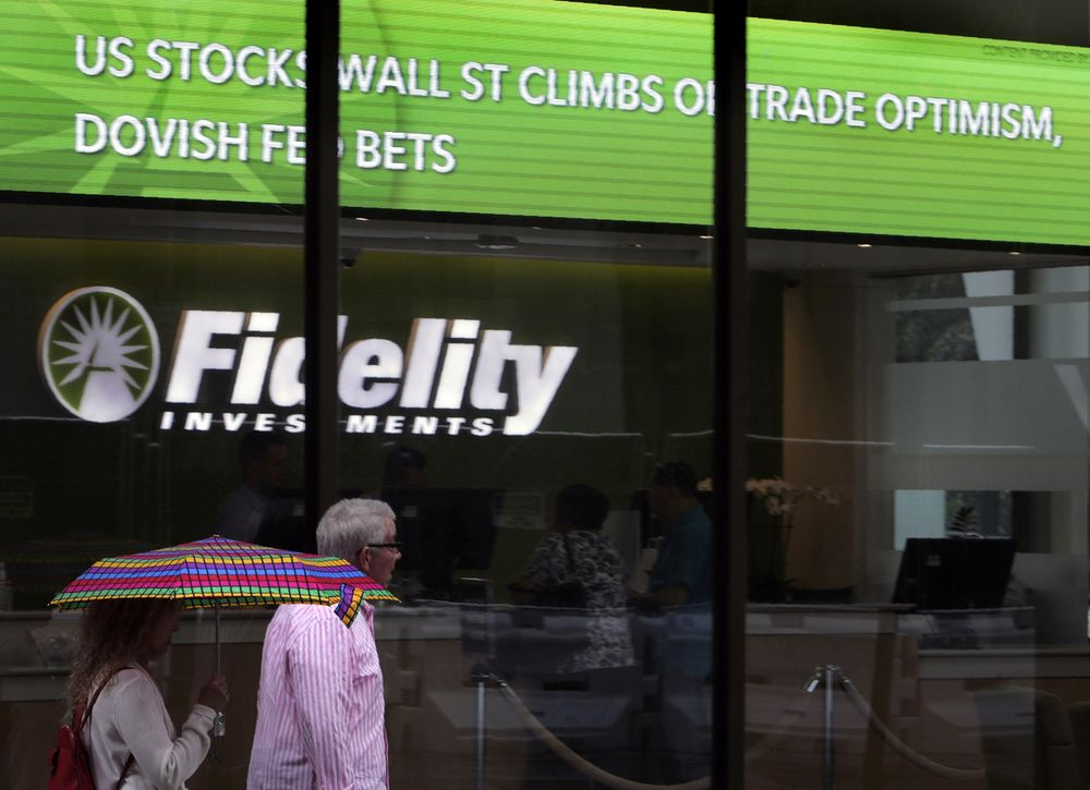 Fidelity Funds Are in Talks to Buy Minority StepStone Stake - Bloomberg