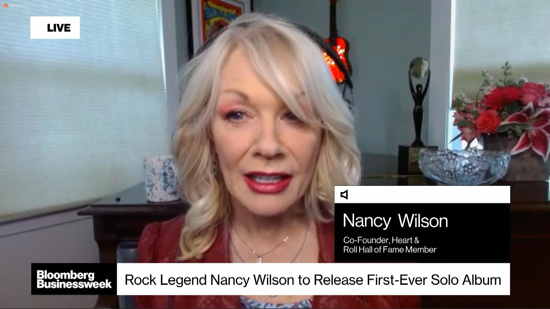 Rock Legend Nancy Wilson Flying Solo for First Time